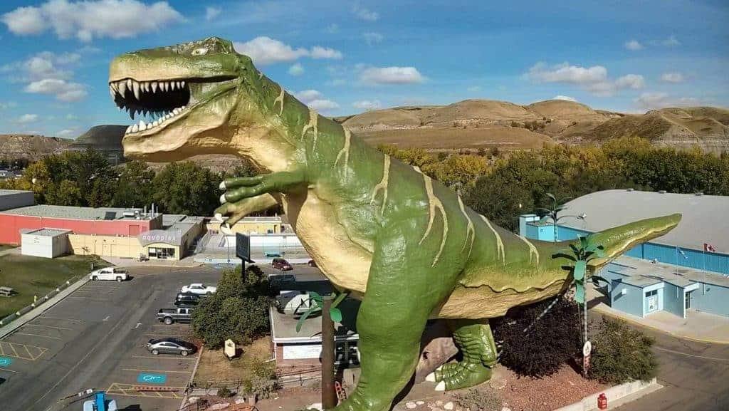 canada dinosaur architecture