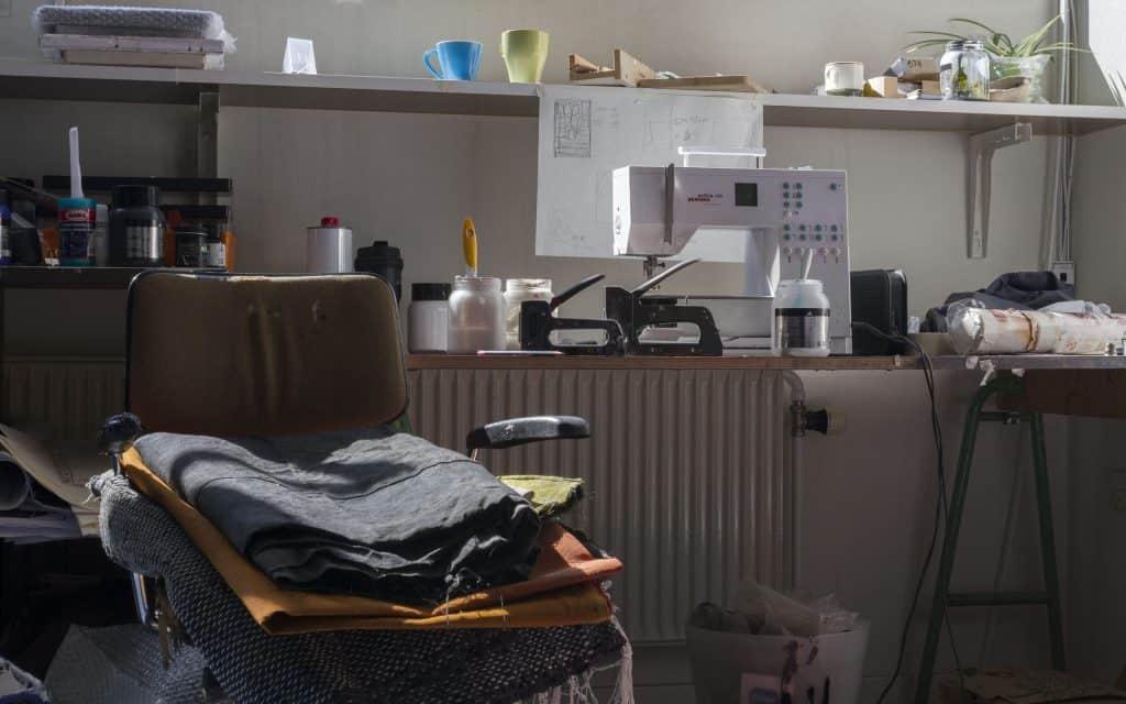 Larsen artist studio