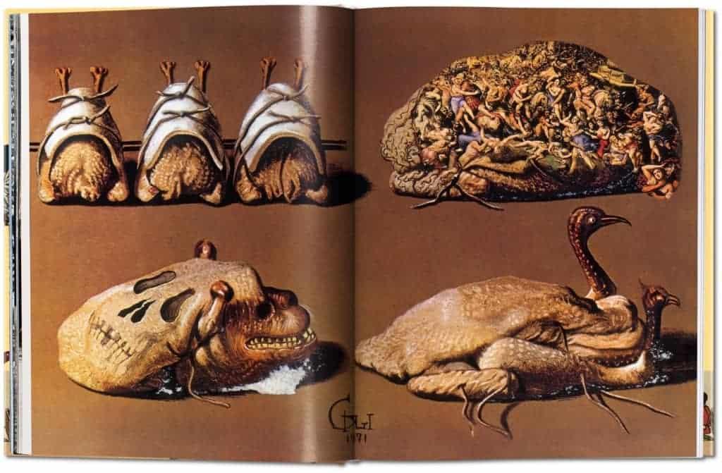 Illustration from Les Dîners de Gala.