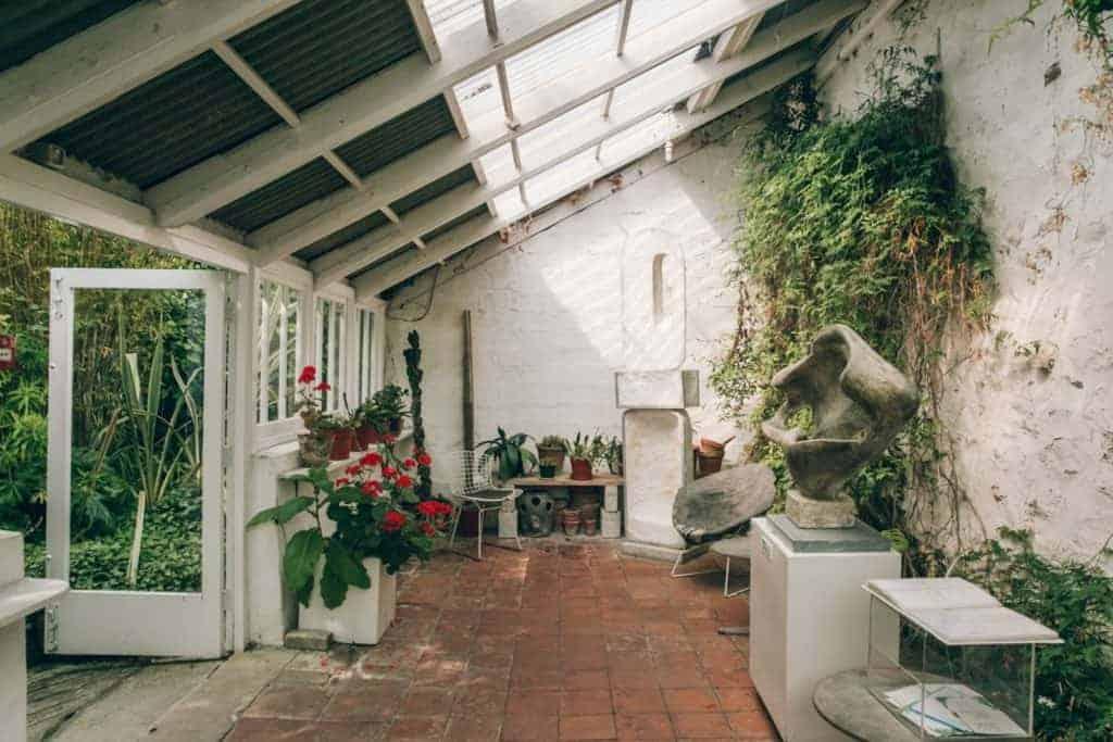Barbara Hepworth's St Ives home