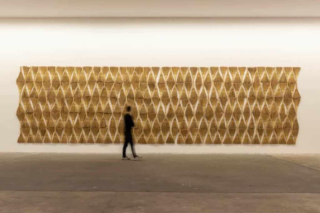 Berlin exhibitions. Hassan Sharif, Broom, 2016.