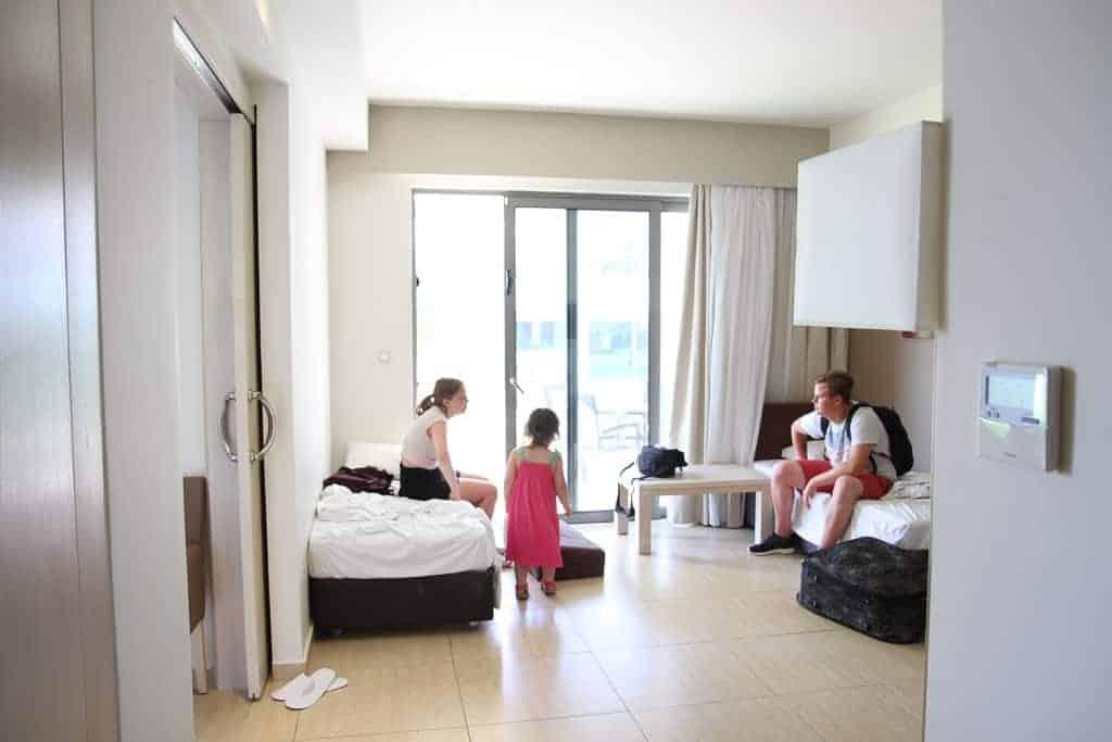 Levante Beach Hotel interconnecting suite
