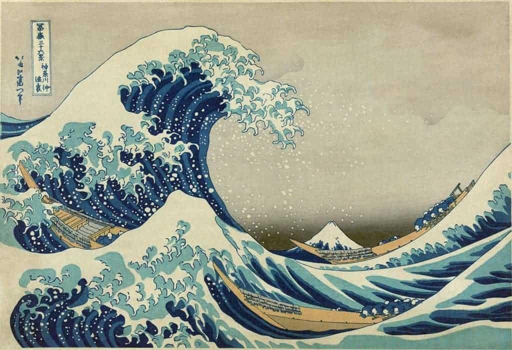 Katsushika Hokusai - The Great Wave - c.1830–1831