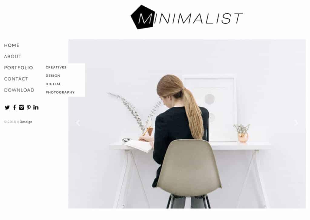 free minimalist