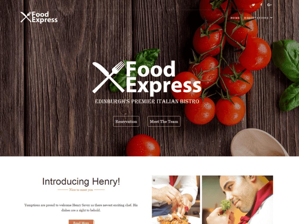 food express theme