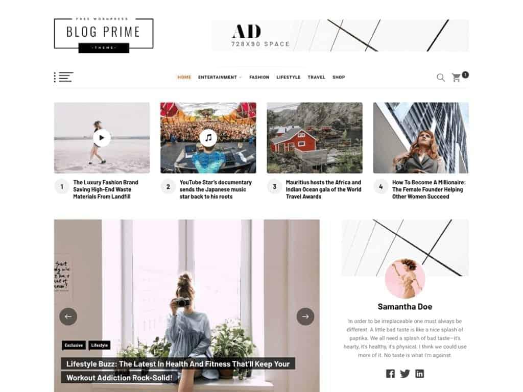 blog prime