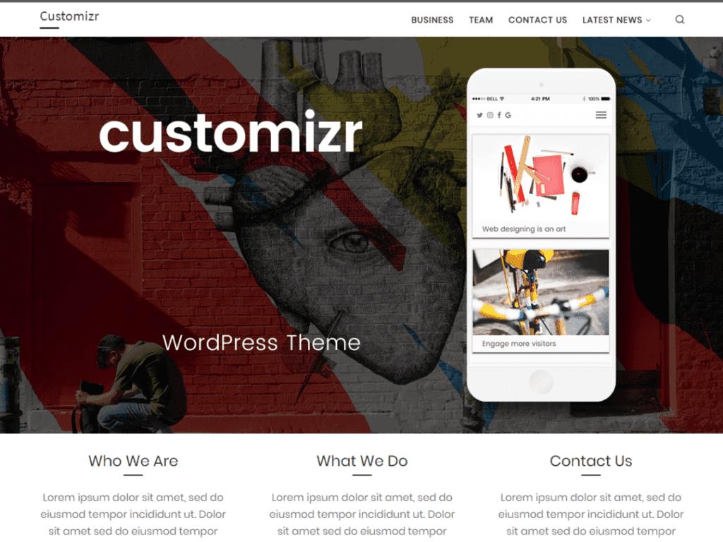 customizr theme