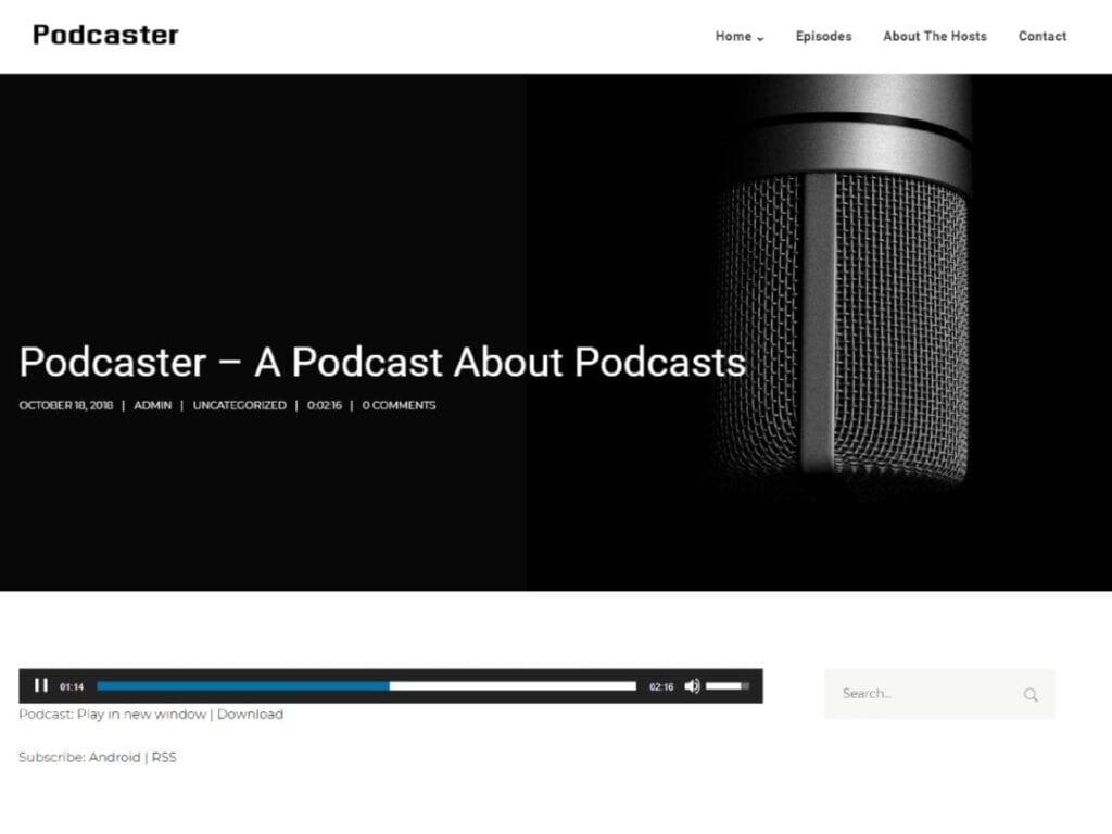 Best Free WordPress Podcast Themes