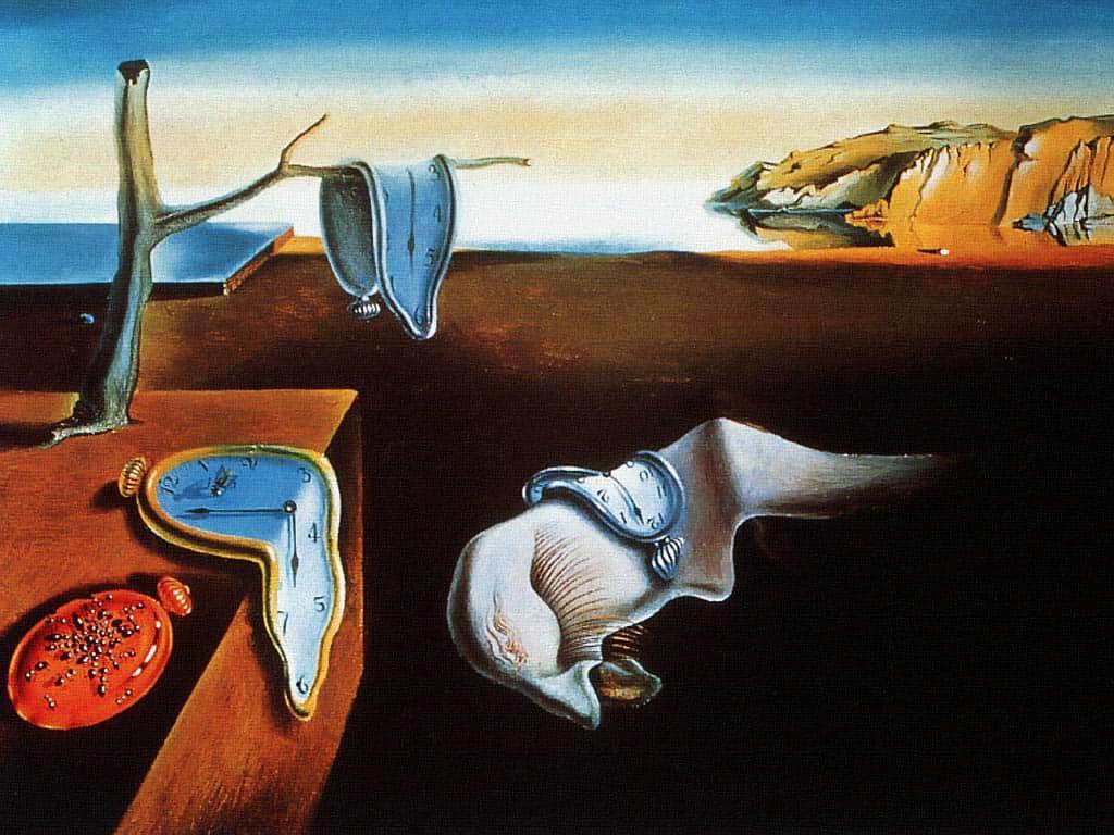Salvador Dalì, The Persistence of Memory, 1931