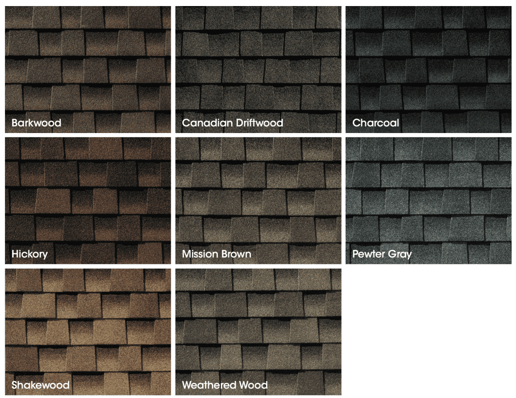 GAF Roofing Shingles Timberline HDZ Collection