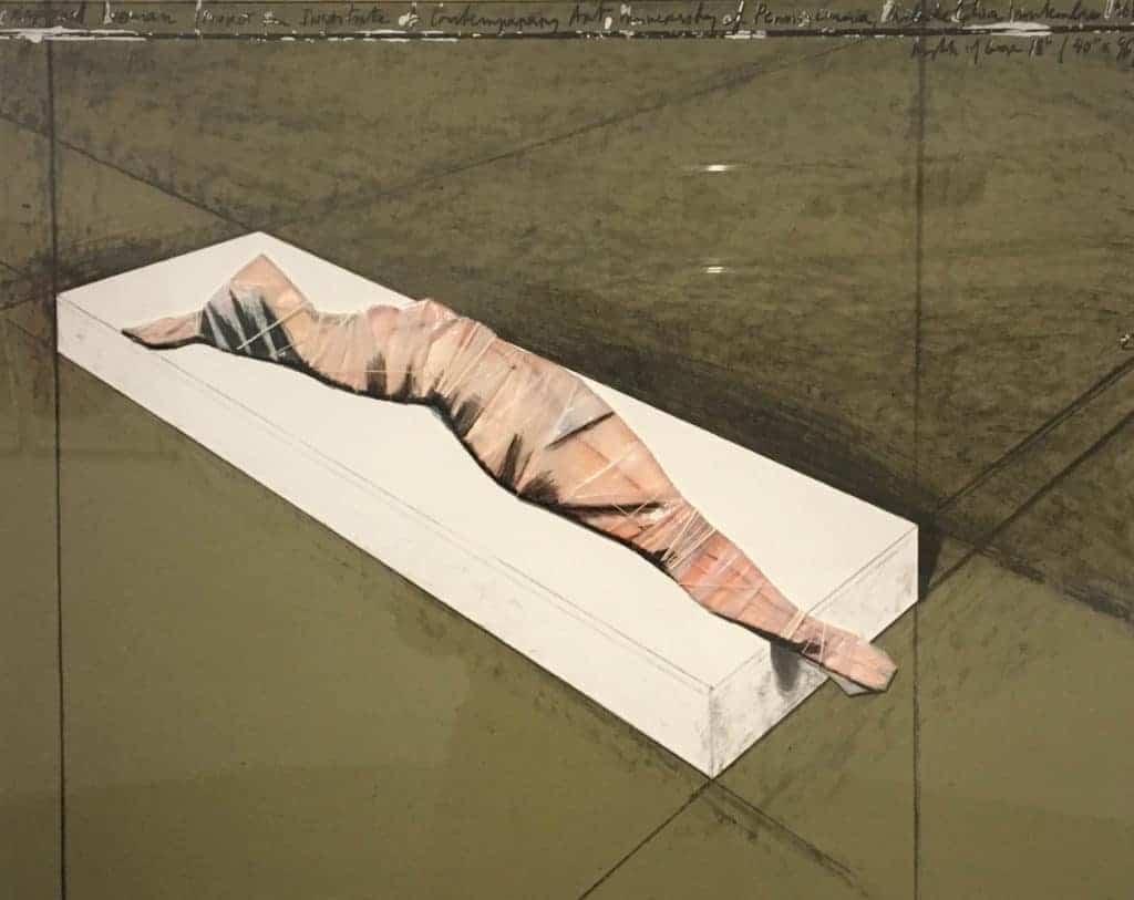Christo, Wrapped Woman, 1968