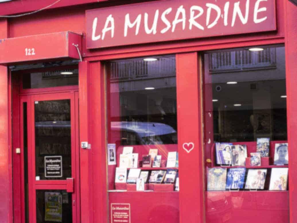 La Musardine, librairie érotique à Paris