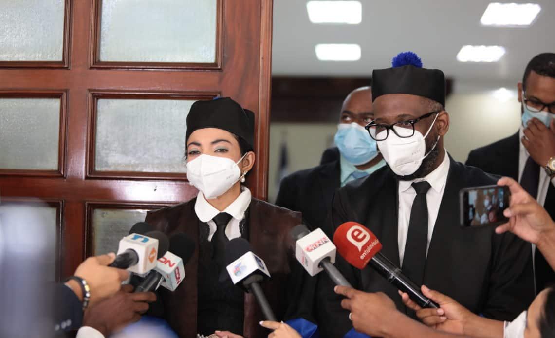 Los procuradores adjuntos Yeni Berenice Reynoso y Wilson Camacho