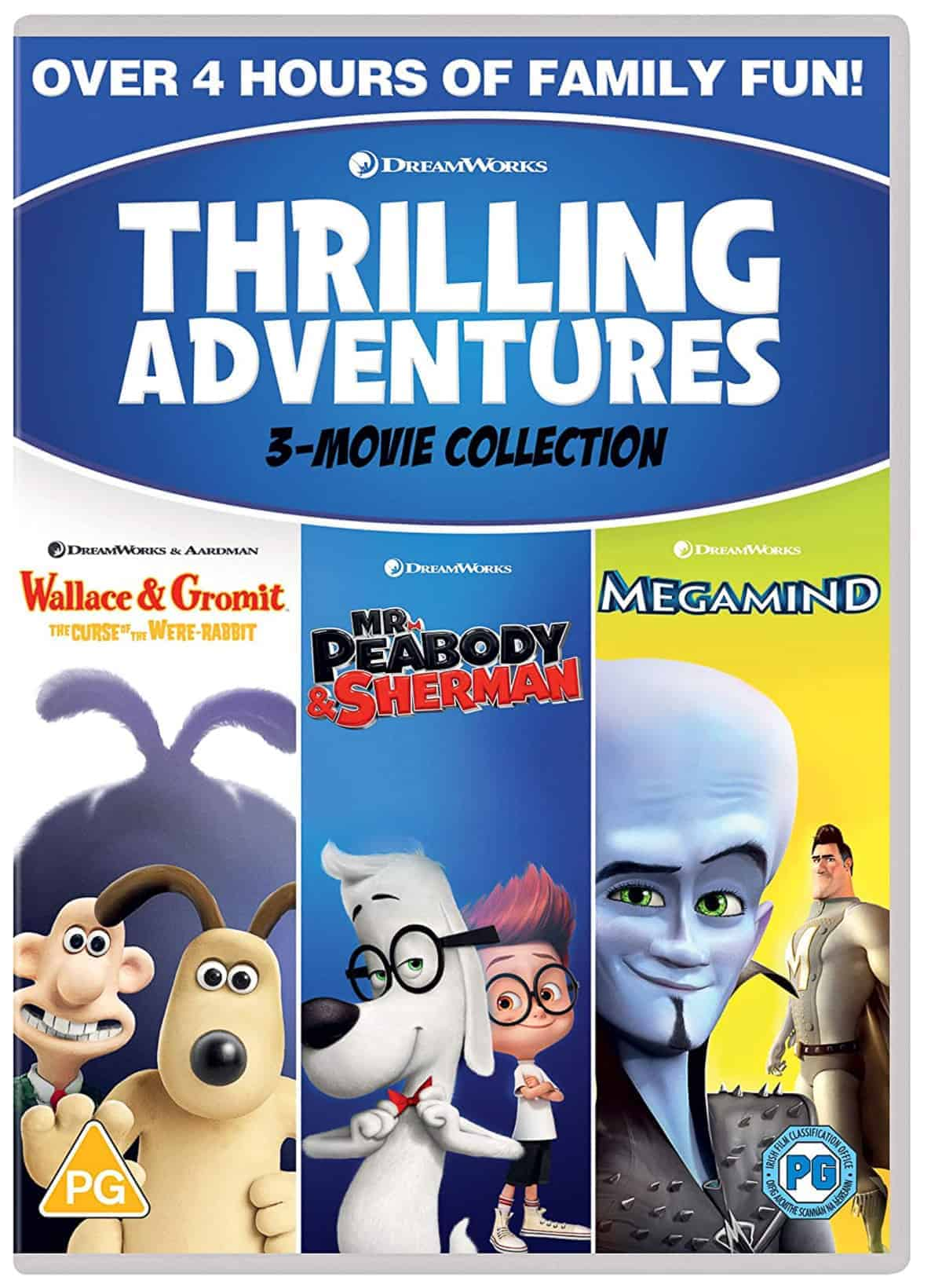 The Thrilling Adventures DVD Collection.