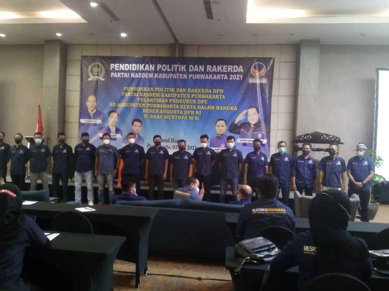 Pengurus DPC (Dewan Pimpinan Cabang ) Partai Nasdem Se-Kabupaten Purwakarta