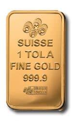 Gold, Tola, Barren