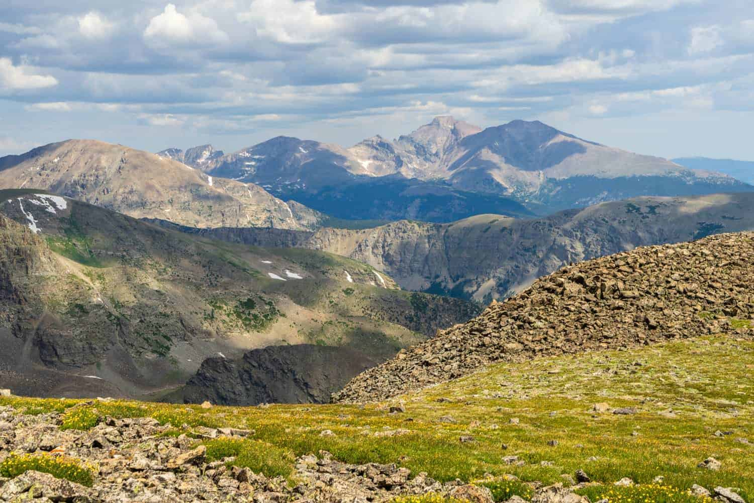 Continental Divide Rocky Mountain National Park Elopement Locations