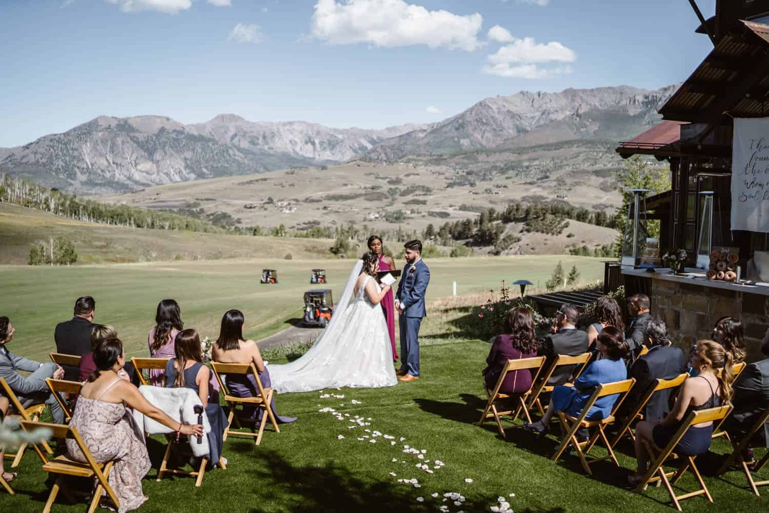 Best Places to Elope in Colorado Private Rental
