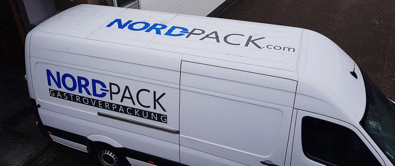 Referenz Arbeit KFZ Nordpack Reklame Bremen