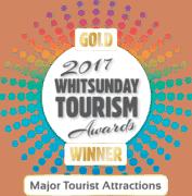 2017 Whitsunday Tourism Awards - Gold Winner - Major Tourist Attraction