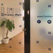 Franke & Pahl Bürogestaltung mit Plott Folien