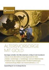 Gold, Altersvorsorge, Inflation