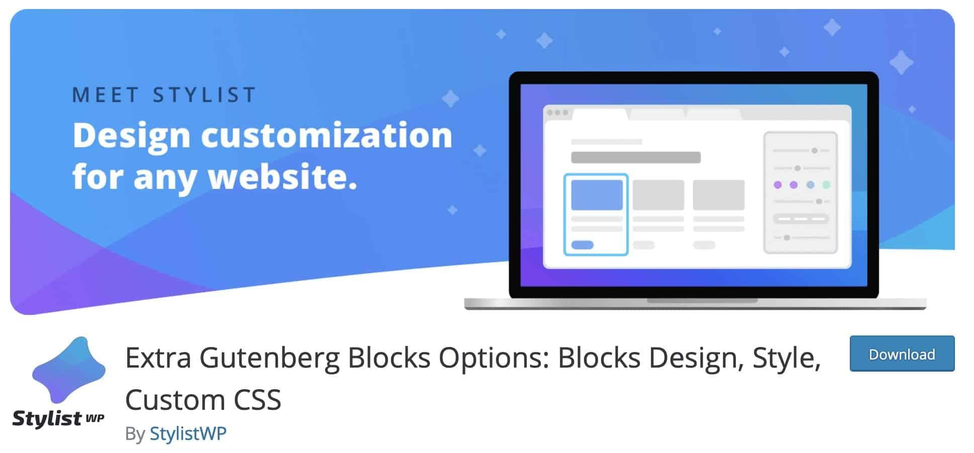extra Gutenberg Blocks
