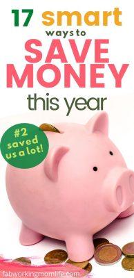 17 smart ways to save money this year
