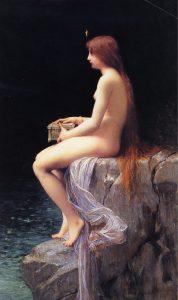 Büchse der Pandora, Jules Lefebvre (1834–1912)