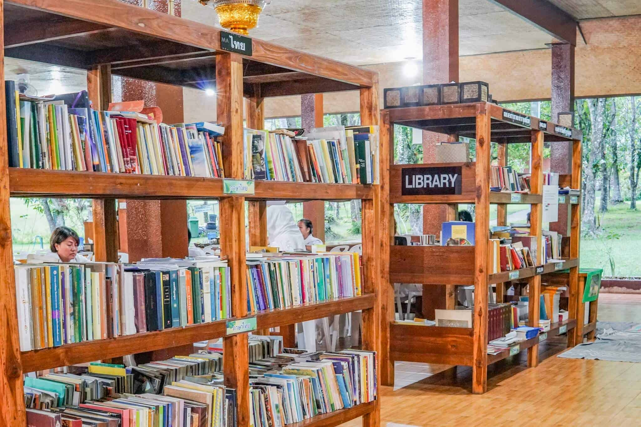 Library – Wat Pa Tam Wua Forest Monastery