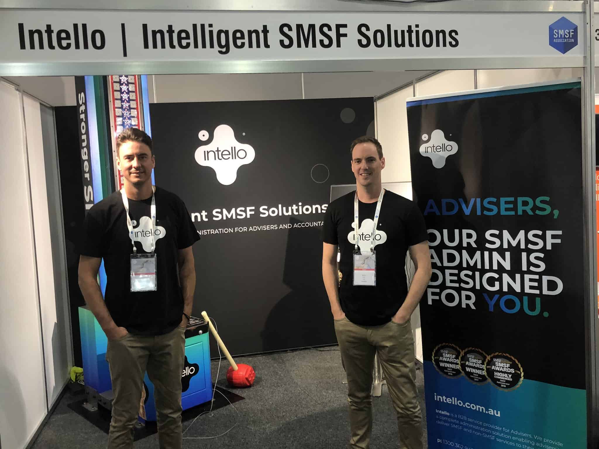 Kris Kitto Jamie Libiets Intello SMSF Conference Gold Coast