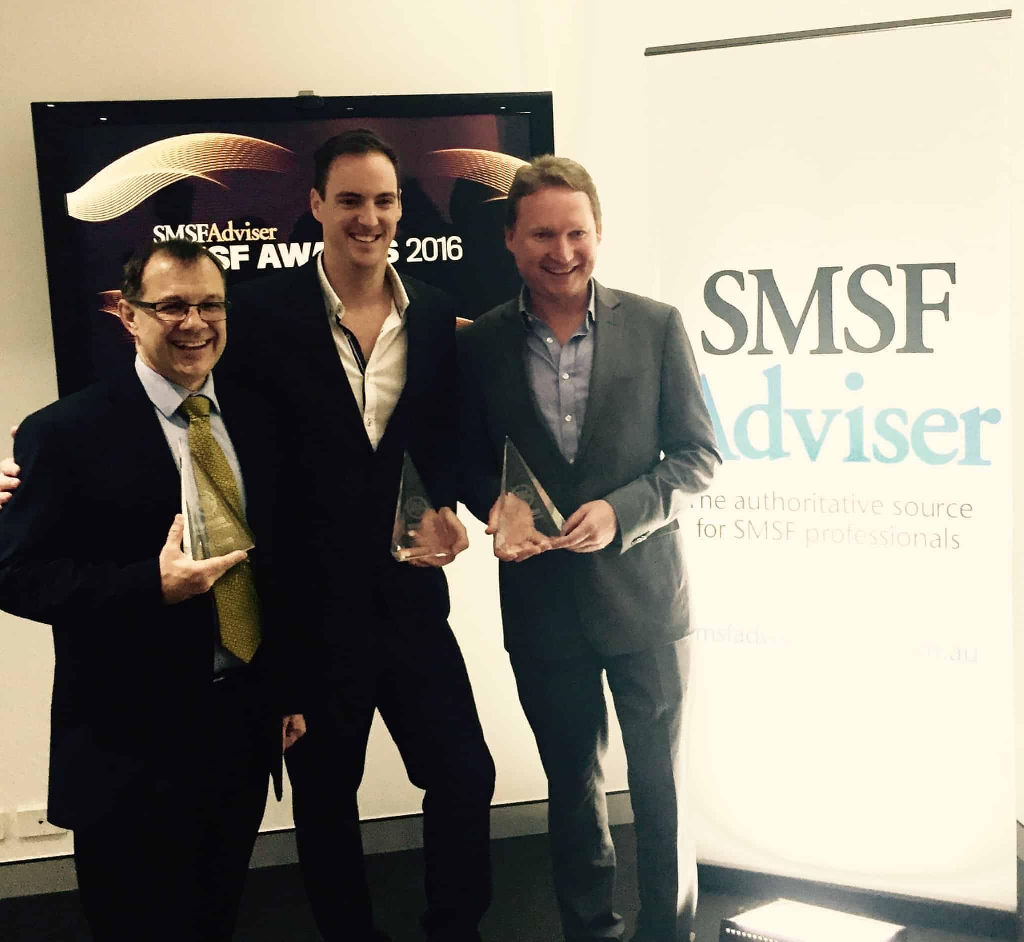 SMSF Administration Award Winners