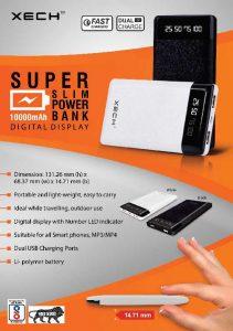 Super Slim 10000mah Powerbank