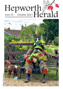 Image of front cover of Hepworth Herald 2021-10