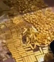 Goldbarren, Gold, Fund, China