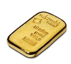 Goldbarren, Tola
