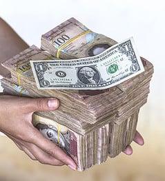 Bolivar, Dollar, Inflation