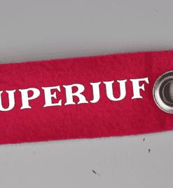 sleutelhanger superjuf