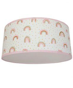 plafondlamp regenboog rozegoud
