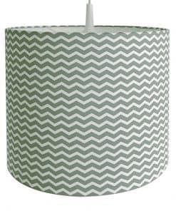 Lamp basic Zigzag bleek groen