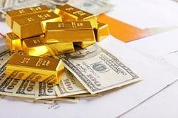 Gold, Dollar, China