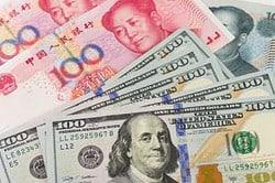 China, USA, Dollar