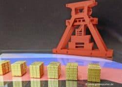 Gold, Russland, Förderung