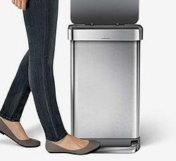 Mülleimer-mit-Fußpedal
