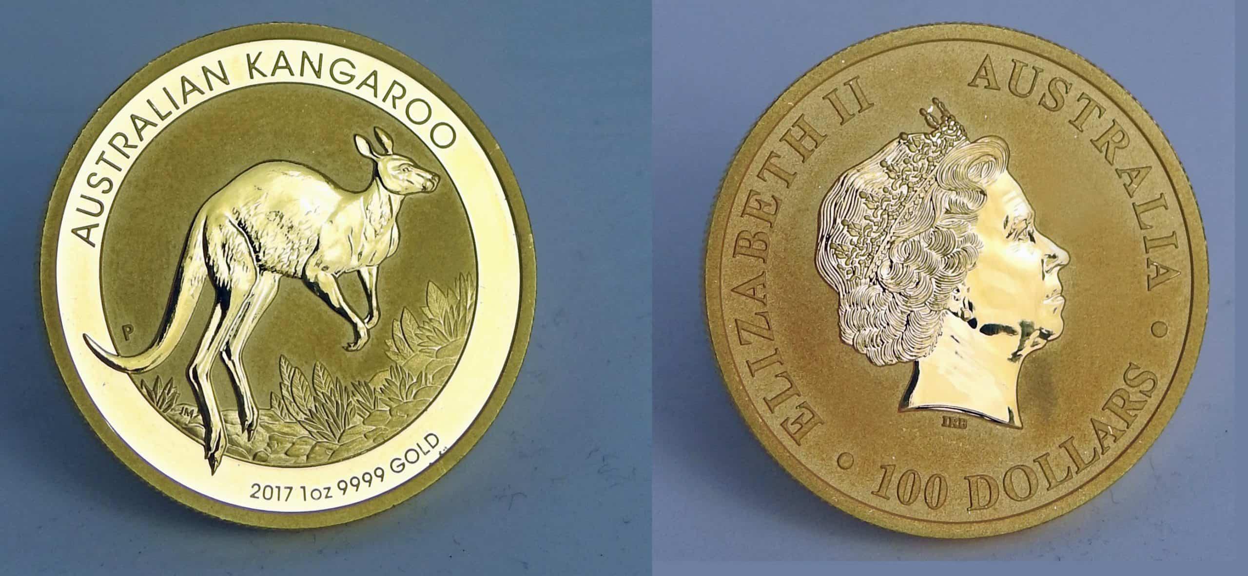 Gold Känguru