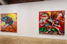 Dana Schutz, Shadow of a Cloud Moving Slowly, Thomas Dane Gallery, London