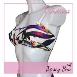 The Tailoress PDF Sewing Patterns - Jersey Bra PDF Sewing Pattern