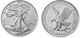 Silbermünzen, Eagle, Silber