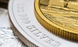 Gold, Silber, Münzen