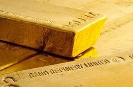 Gold, Südafrika, Goldbarren